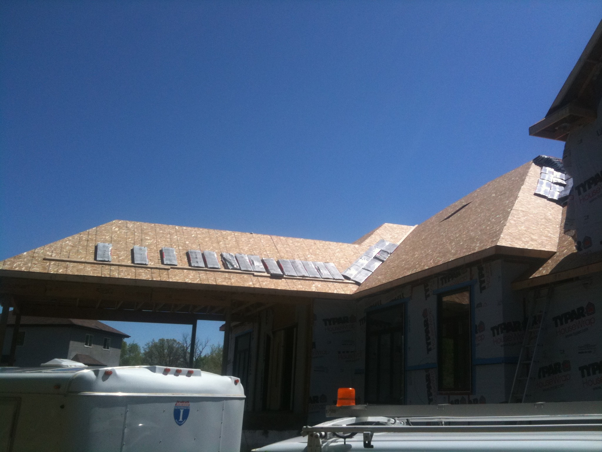 klz roof install in progress